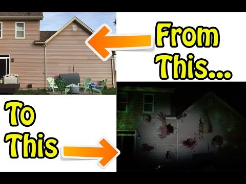 How to Make Zombies Destroy your House on Halloween - AtmosFearFX Demo of Zombie Invasion