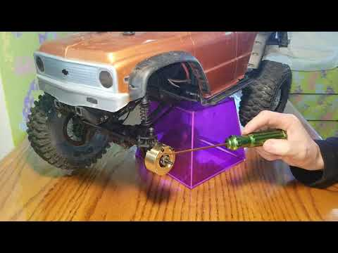 Traxxas  trx4  how to install  knuckle  weights