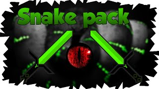 Minecraft: Snake PVP Texture Pack [1.7 & 1.8] Green Edit