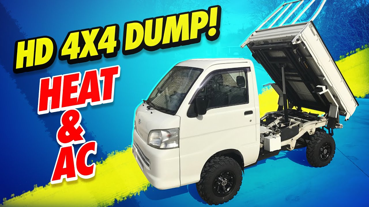 Oklahoma Road Legal Japanese Mini Trucks New And Used 2019 Daihatsu Hijet Pto Dump Truck
