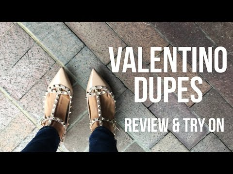 Valentino Dupes | Review + Try On