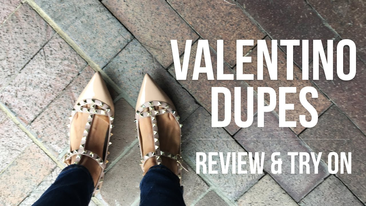 e474deae792e Valentino Dupes | Review + Try On - YouTube