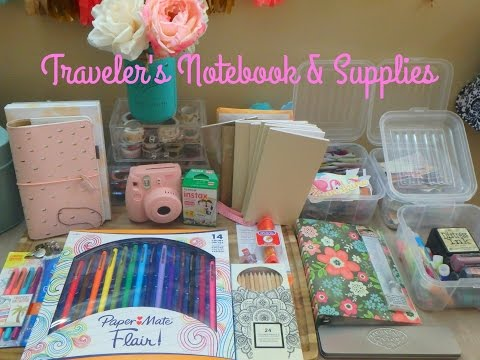 Traveler's Notebook & Supplies!!
