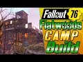 Flatwoods Bridge Home! - FIRST Fallout 76 CAMP BUILD