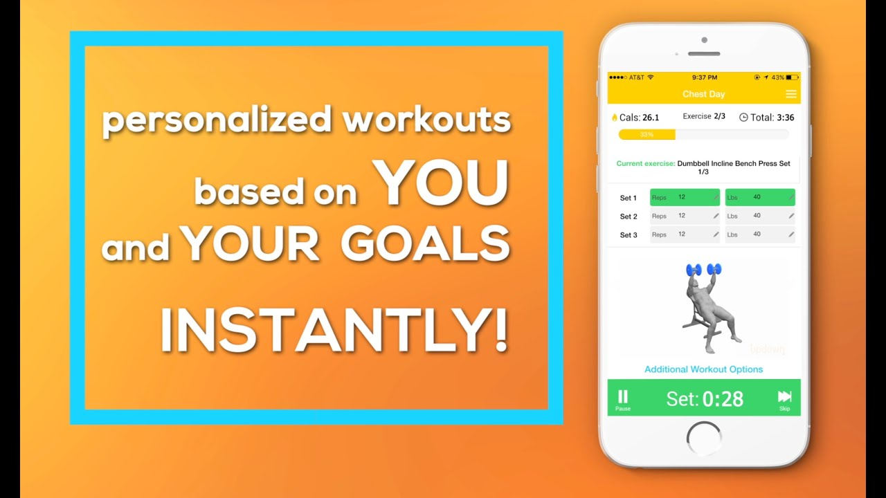 updown fitness exercise workout trainer and daily routines free app