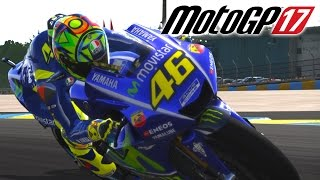 MotoGP 17 - Rossi Gameplay