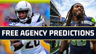 NFL Free Agency Predictions 2020 | Over 50 FA Landing Spots