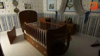 Кроватки для детей, детские комнаты Киев купить, цена, интернет магазин салон Caroti