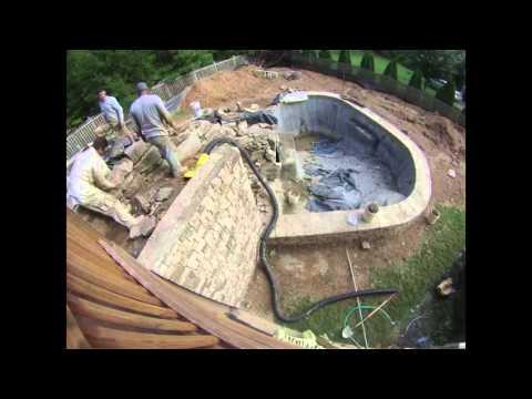 Barber Pool Build
