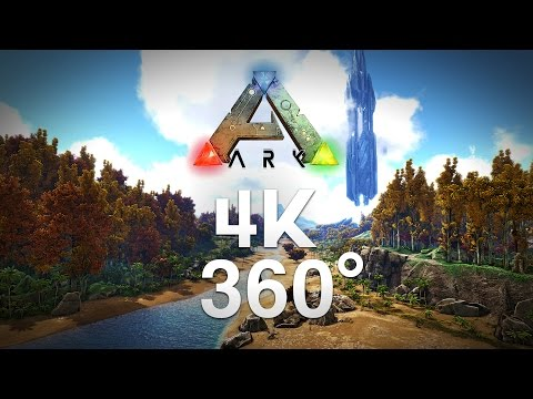 ARK Survival Evolved 360° Video in 4K!