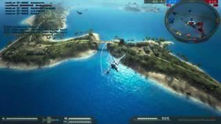 Battlefield 2 F18 Wake Island