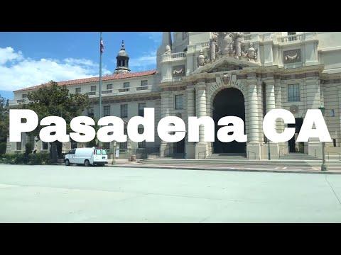 🔴  Pasadena Driving Tour 4K