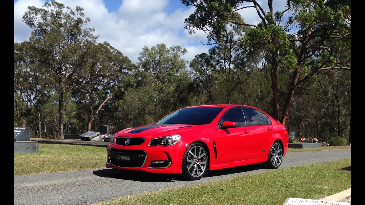 Holden VF Series 2 SS Lowering Part II - Ride Height & Clearance