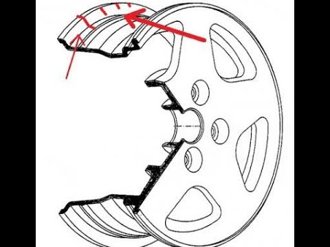 Как правильно измерить ширину диска