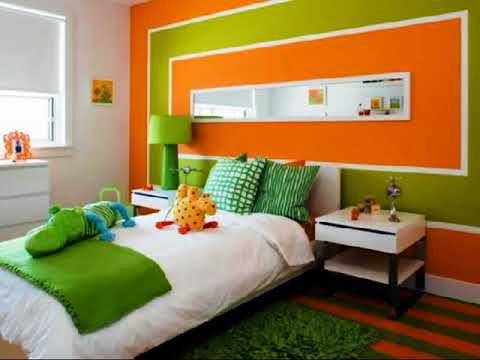 Blue Green Orange Living Room ideas