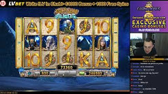 Pharaohs & Aliens 🎰 BF Games Casino Slots 💲 30 Free Spins 133X WIN 💲