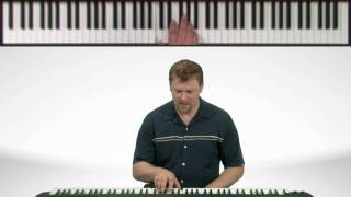 Charlie Brown Linus & Lucy Song Part #1 - Piano Song Lessons