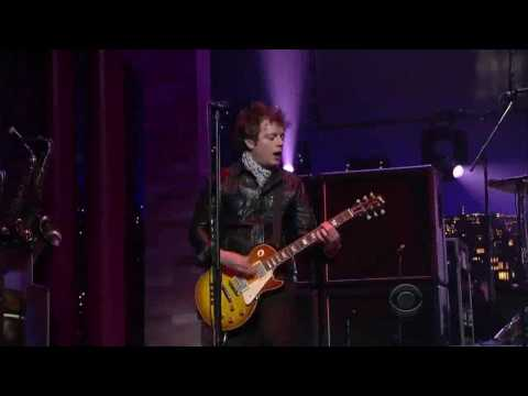Green Day - East Jesus Nowhere Live David Letterman 2009 High Quality  HD