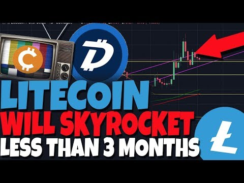 Litecoin Will Skyrocket 140% in Less Than 3 Months & Hit $220-  LTC Halving (Digibyte Breaks Out)