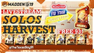 Harvest Promo W/ Texas | Grinding For Free 93 Overall Harvest Elite