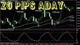 Get 20 PIPS a Day Forex Trading Strategy While You Sleeping