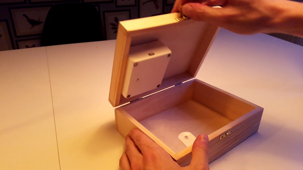 Diy Rfid Safety Box With Ikea Rothult Smart Lock Youtube