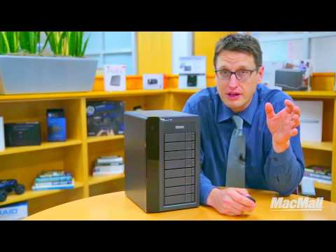 Chris Quilisch explains Creative Data Storage with the Pegasus2 R8 Drive
