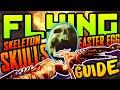 How to activate Skeletons in BO3 Der Eisendrache! FLYING SKULLS EASTER EGG GUIDE, SKELETON Gameplay