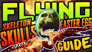 FLYING SKULLS EASTER EGG GUIDE: How to activate Skeletons in BO3 Der Eisendrache SKELETON Gameplay