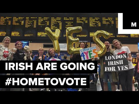 Irish People All Around the World Are Traveling #HomeToVote in the Abortion Referendum