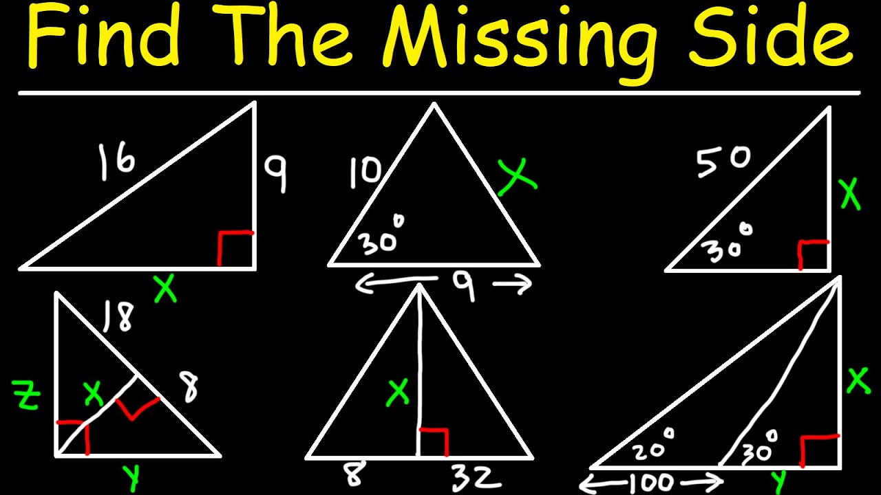 Download How To Calculate The Missing Side Length of a Triangle