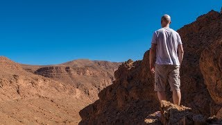 TODRA GORGE: Berber visit and EPIC hike in the rocky Mars-like landscape - Morocco Episode 06