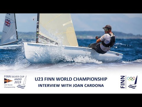 2019 Finn Silver Cup - Interview with Joan Cardona