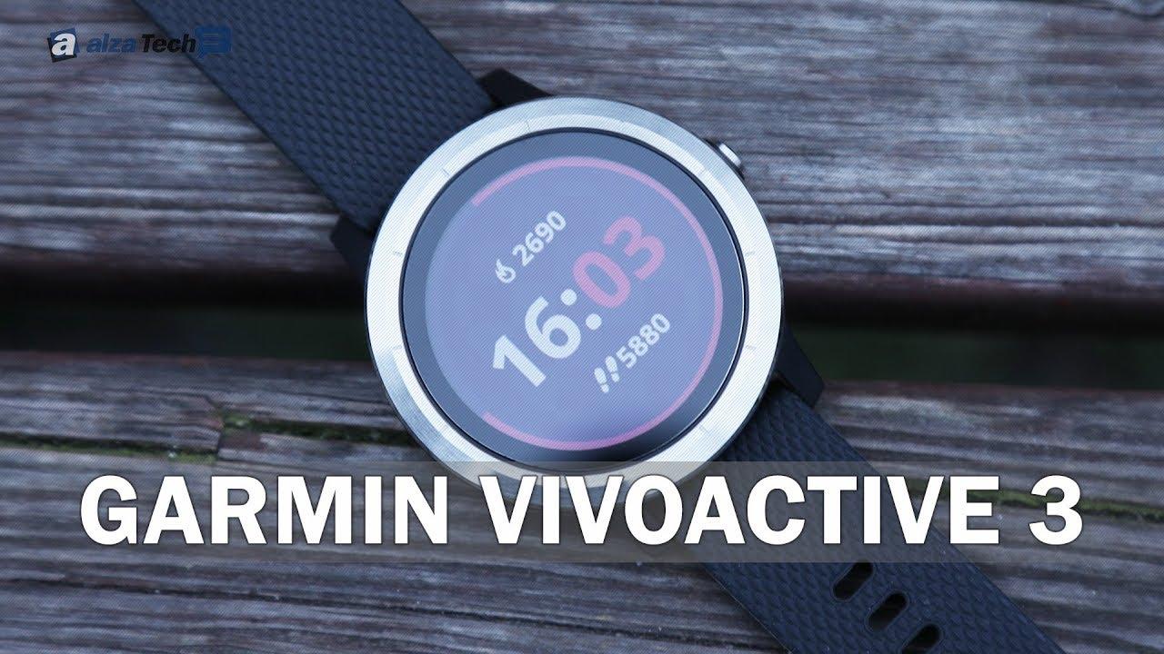 13e583d4f2 Garmin vívoactive 3 Black Silver - Chytré hodinky