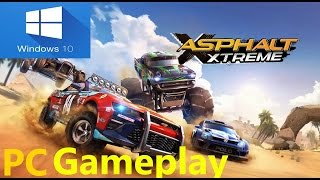Asphalt Xtreme Windows PC Gameplay !! |Windows 8,8.1 & 10| With Download Link