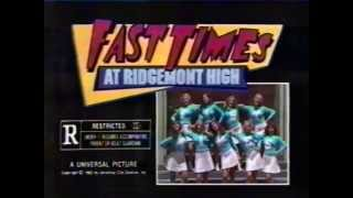 Fast Times at Ridgemont High 1982 TV trailer