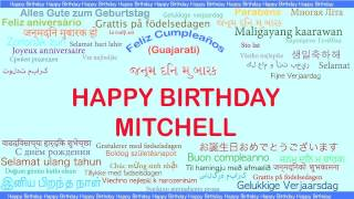 Mitchell   Languages Idiomas - Happy Birthday