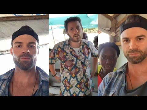DANIEL GILLIES | LIVE Q&A FROM UGANDA, AFRICA | REFUGEES CAMP | CONJUCTION WITH OXFAM.