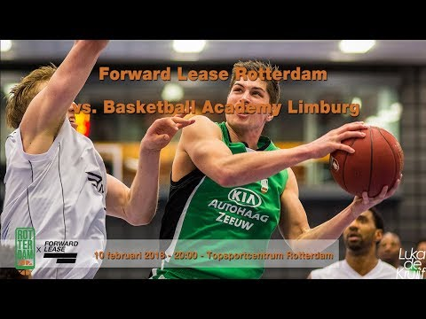 Forward Lease Rotterdam - Basketball Academy Limburg 10 februari 2018