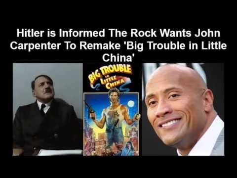 hqdefault hitler is informed the rock wants john carpenter to remake 'big