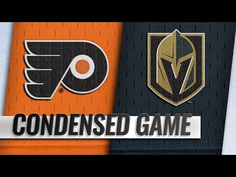 10/04/18 Condensed Game: Flyers @ Golden Knights