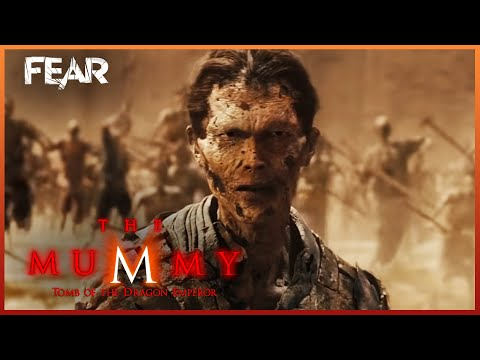 Zi Yuan Raises The Army Of The Dead  The Mummy: Tomb Of The Dragon Emperor