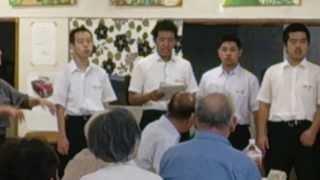 002 浦和工業高校さんのコーラス~旧騎西高校 生徒ホールにて~