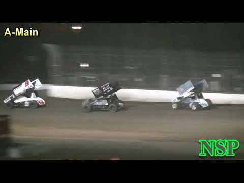 September 3, 2018 World of Outlaws A-Main Grays Harbor Raceway