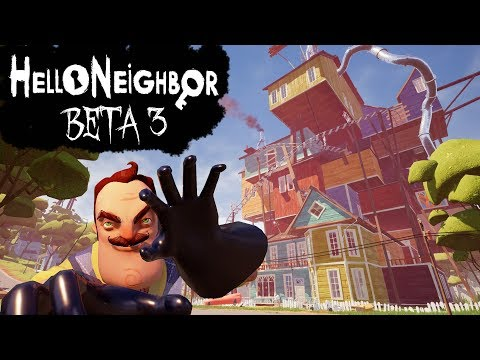 Hello Neighbor Beta 3 Walkthrough/Longplay (No Commentary)