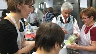 L'atelier culinaire des aidants de l'Ehpad La Maison des Sources de Confolens au restaurant L'Estami