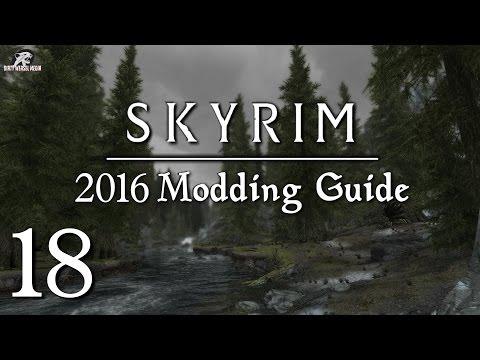 2016 Skyrim Modding Guide Ep.18 - Simply Bigger Trees vs. Skyrim Flora Overhaul