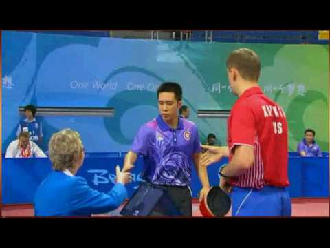 2008 Olympics China HKG x RUSS  Ko Lai Chak vs Fedor Kuzmin