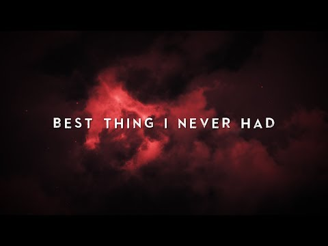 """Agnese Stengrevics """"Best Thing I Never Had """" Lyric video (Unplugged)"""