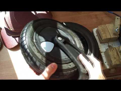 Как разобрать колесо коляски